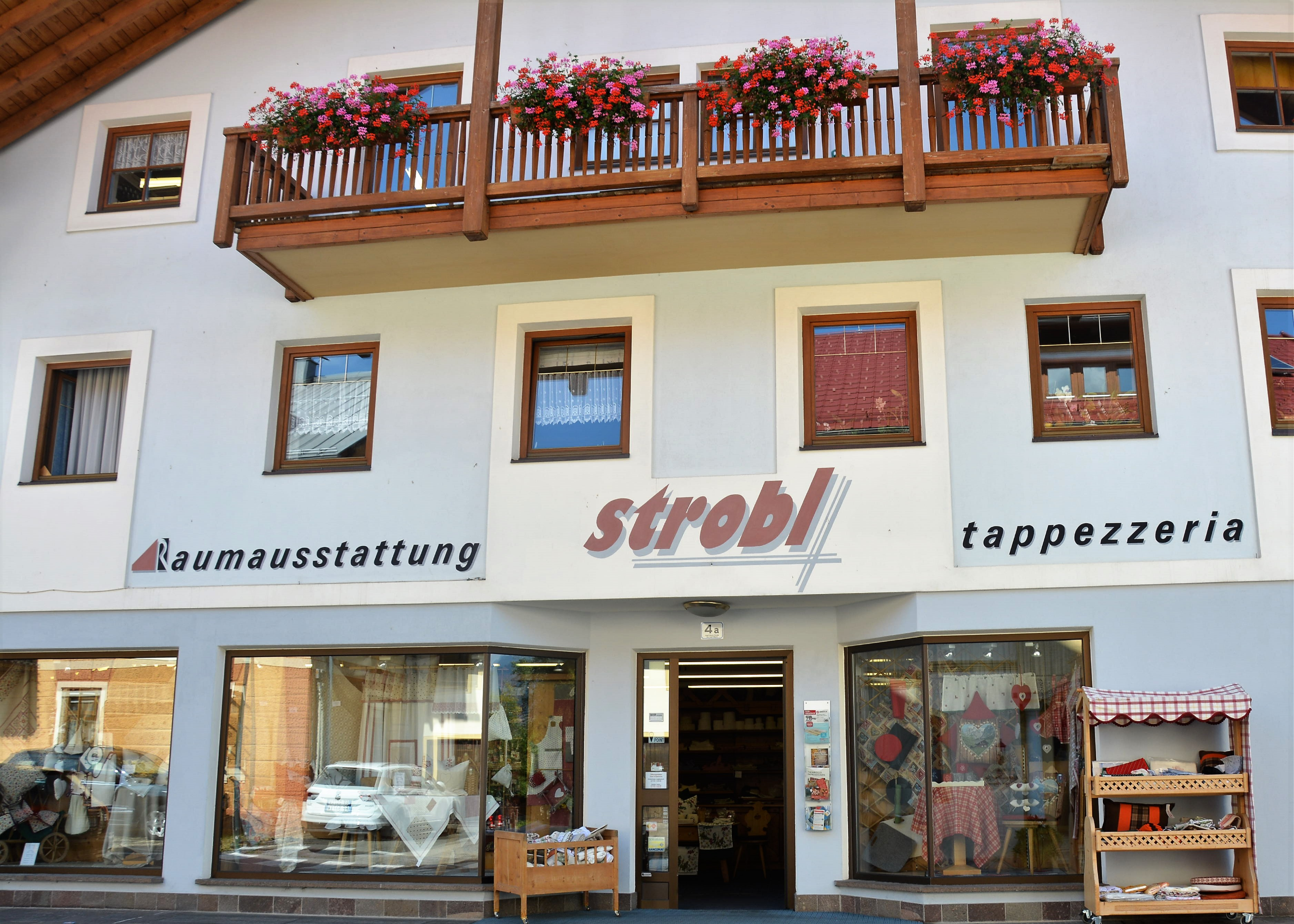 Strobl furnishings and upholstery